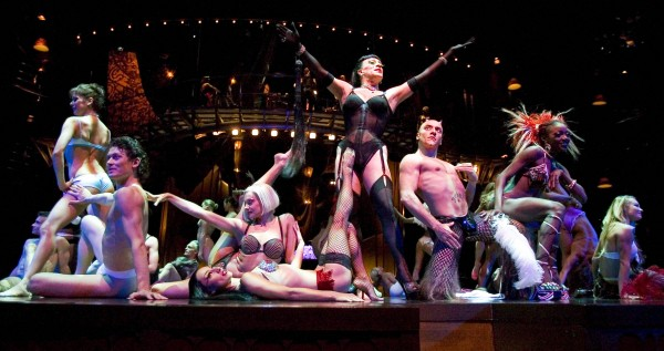 The cast of Zumanity