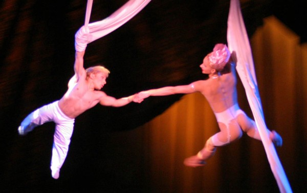 High-altitude hanging ballets make a great show.