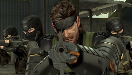 Big Boss returns to PSP, leading the Militaries Sans Frontiers.
