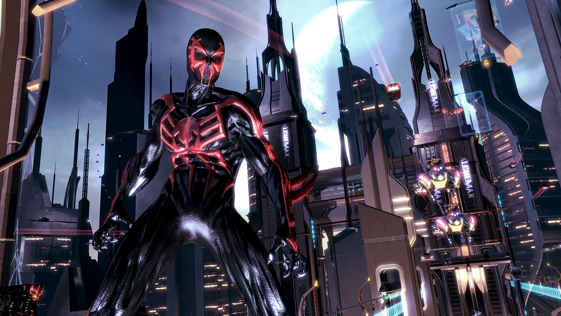 Spider-Man Shattered Dimensions Screenshots | Dan Birlew