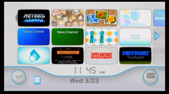 Wii video output uncropped